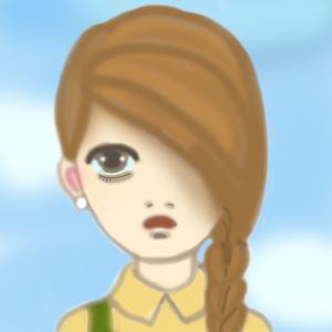 モニカの似顔絵