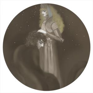 鎧の聖女とスフィンクス