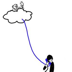 天国への直通電話