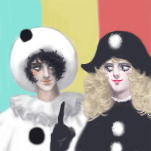 ピエロとコロンビーヌ