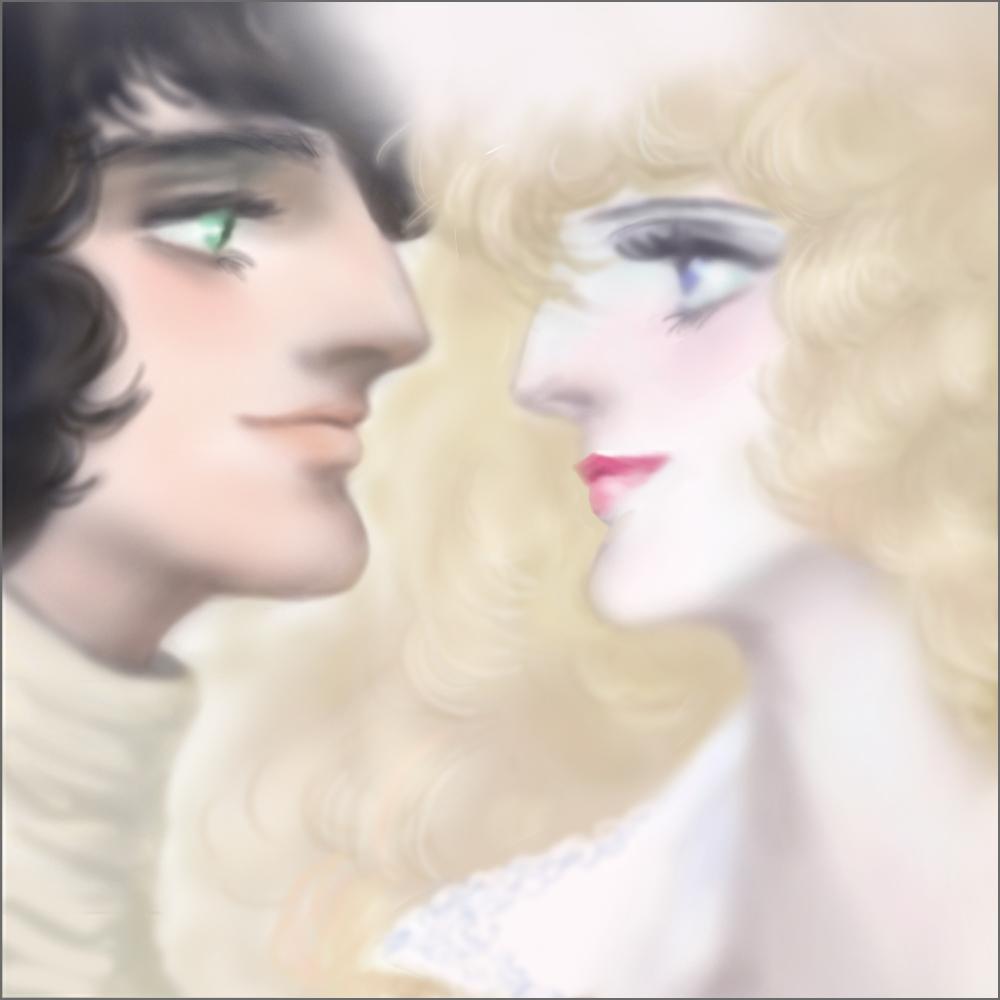 見つめ合う恋人たち
